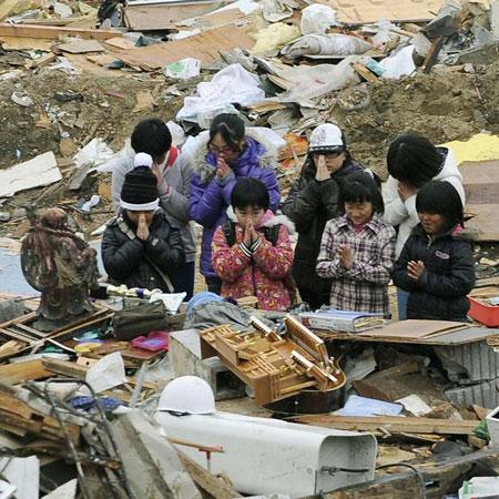 Phòng khám đặc biệt cho nạn nhân sóng thần Nhật Bản