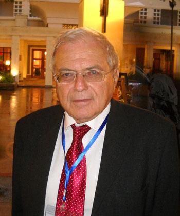Giáo sư Henri Dou, một thành viên trong ban tư vấn quốc tế về chiến lược khoa học, công nghệ và đổi mới của Việt Nam. (Ảnh: Minh Long)