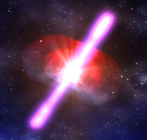 Những vụ nổ trong vũ trụ hủy diệt cuộc sống trên Trái Đất