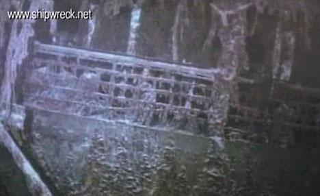 SS Mantola bị chìm năm 1917.