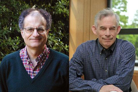 Hai nhà kinh tế học vừa đoạt giải Nobel.