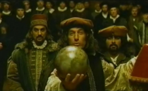 Columbus chứng minh trái đất hình tròn