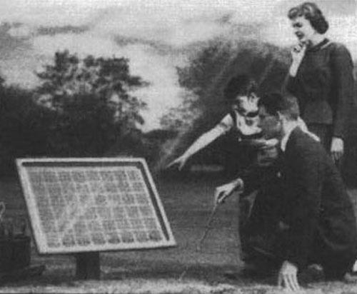Charles Fritz là nhà khoa học đầu tiên thành công trong việc chuyển hóa năng lượng mặt trời thành năng lượng điện.