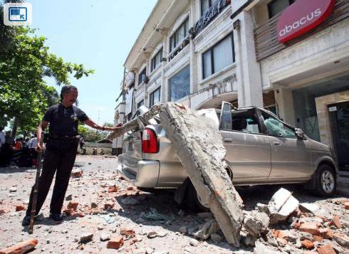 Động đất mạnh rung chuyển Indonesia