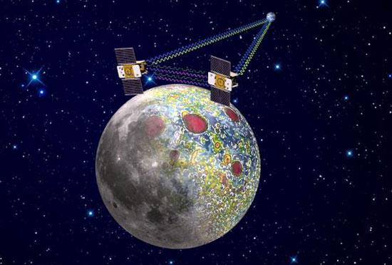 """""""Cặp song sinh"""" trên mặt trăng của NASA"""