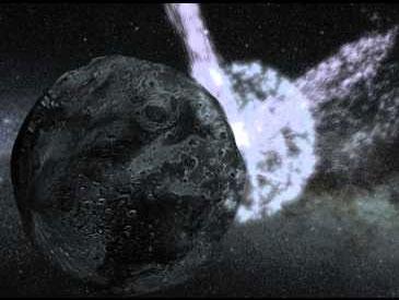 Nguyên nhân của vụ nổ thiên thạch Scheila