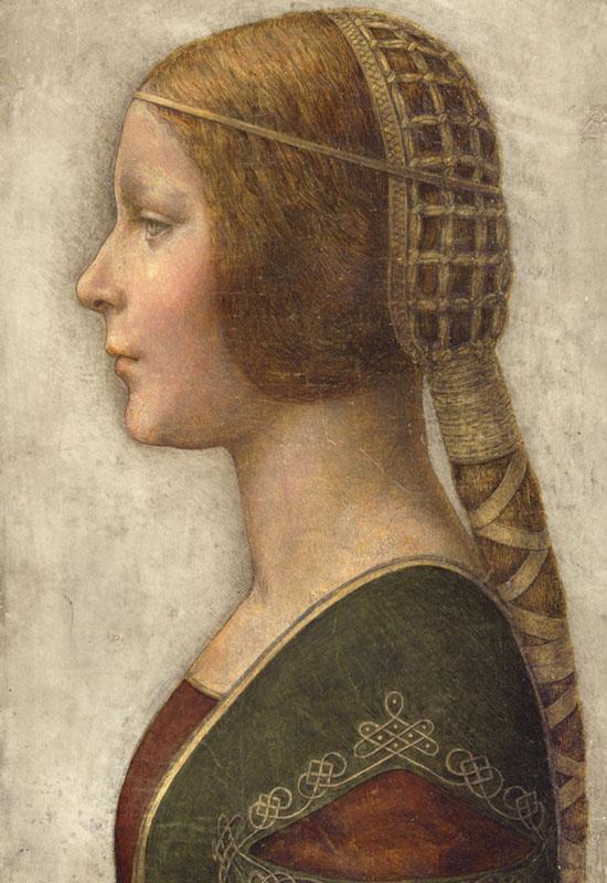Bức chân dung gây tranh cãi có thể được tạo ra bởi Leonardo da Vinci.