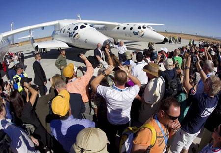 Khai trương sân bay vũ trụ đầu tiên trên thế giới