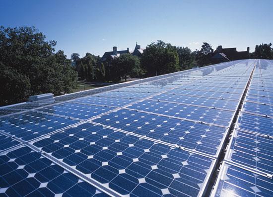 Hệ thống SEES xác định lượng năng lượng mặt trời chiếu xuống từ mái nhà