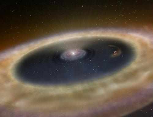 Lần đầu tiên chụp được ảnh hành tinh đang hình thành