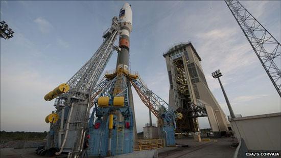 Vụ phóng vệ tinh của châu Âu bị hoãn