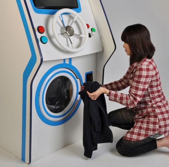 Giặt quần áo bằng… game
