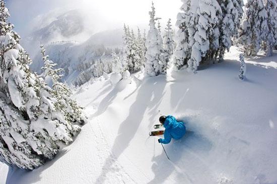 Ảnh đẹp: Trượt tuyết tại núi pha lê