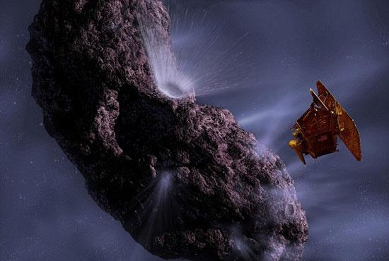 Sao chổi Hartley 2 được thăm dò bởi tàu NASA Deep Impact.