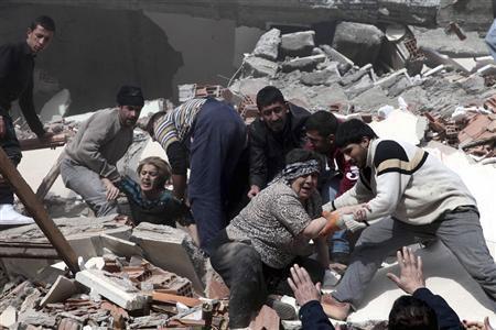 Động đất tại Thổ Nhĩ Kỳ làm 1.000 người chết