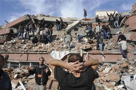 Video: Cảnh đổ nát, hoảng loạn sau động đất ở Thổ Nhĩ Kỳ