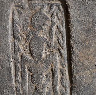 Phát hiện cổ vật mô tả mẹ sinh con