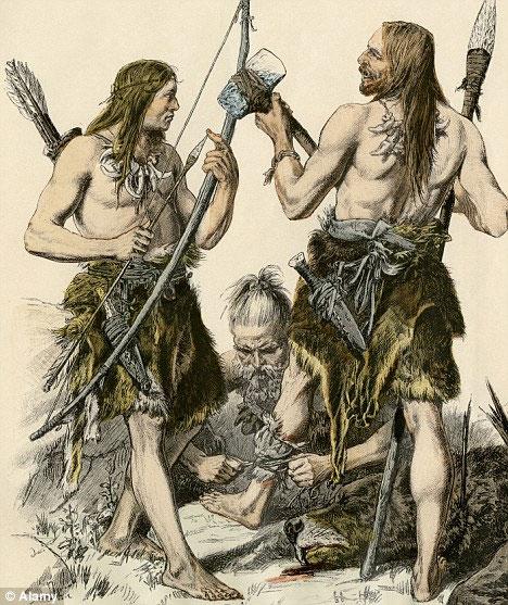 Loài người vẫn tiếp tục khai thác nguồn tài nguyên có sẵn bất chấp sự tan vỡ của hình thức săn bắt hái lượm. (Ảnh: Daily Mail)