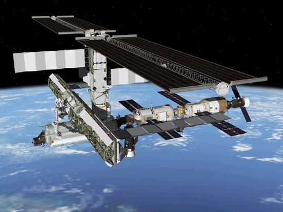 Điều chỉnh quỹ đạo của ISS