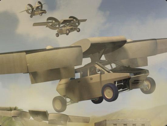 Phiên bản xe bay do tập đoàn Lockheed Martin thiết kế. (Ảnh: Aviation Week)