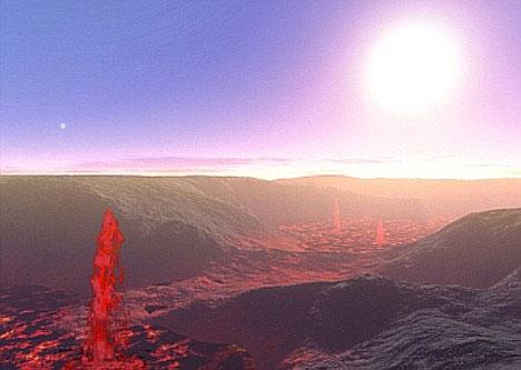 Một năm trên hành tinh 55 Cancri E chỉ bằng 18 giờ sống ở Trái Đất