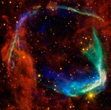 Bí ẩn siêu tân tinh 2.000 năm tuổi
