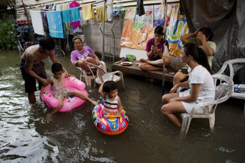 Bangkok trong lũ