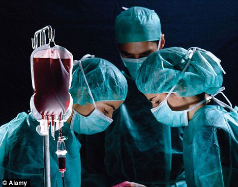 Sản xuất máu nhân tạo từ tế bào gốc