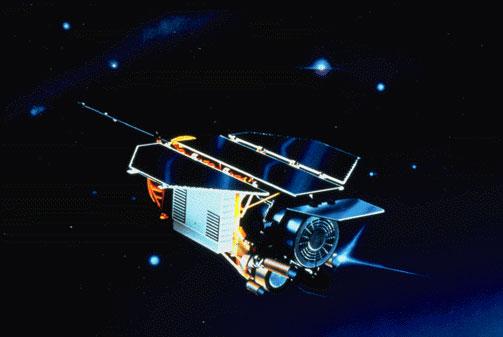 Điểm rơi chính xác của vệ tinh Đức