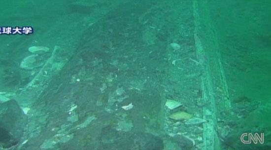 Hình ảnh xác tàu chiến thời Hốt Tất Liệt
