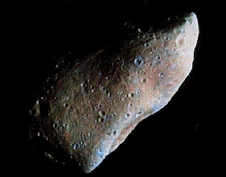 Thiên thạch 2005 YU55. (Ảnh: adorraeli.com)