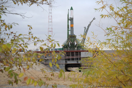 Nga phóng thành công tàu con thoi lên Trạm Không gian Quốc tế