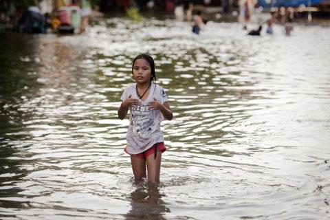 Toàn cảnh trận lụt lịch sử ở Thái Lan