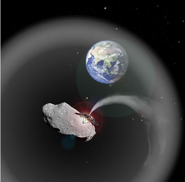 Tiểu hành tinh tạo bụi có thể chống biến đổi khí hậu trên Trái Đất