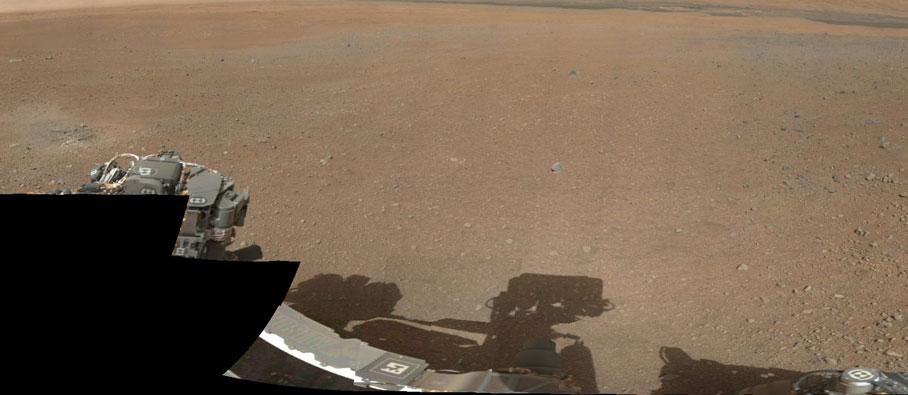 Nhiệt độ ban ngày trên sao Hỏa khá ấp áp dù hiện tại vẫn là cuối đông.