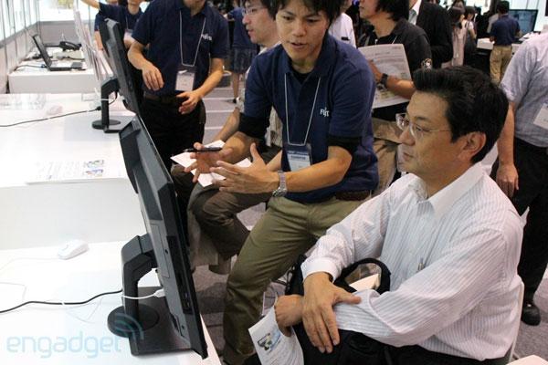 Fujitsu phát triển công nghệ theo dõi mắt người dùng