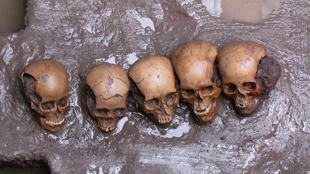 Mexico: Phát hiện xương sọ, xương hàm 500 năm tuổi