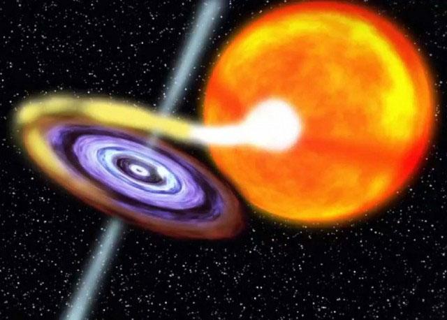 Phát hiện hố đen mới của Dải Ngân hà