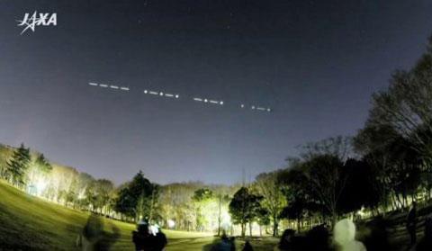 Vệ tinh Nhật sẽ phát mã Morse bằng đèn led
