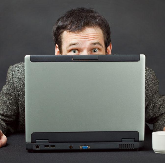 Mở máy tính bằng cách liếc mắt