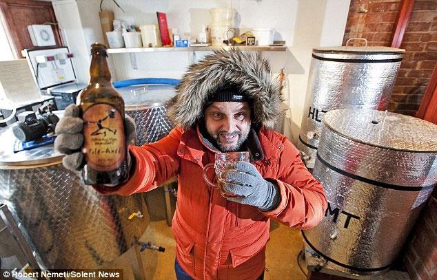 Xuất hiện loại bia vô địch về chịu lạnh