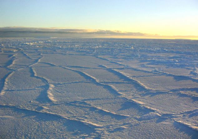 Diện tích băng tăng kỷ lục ở Nam Cực