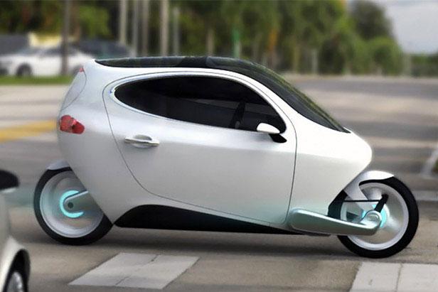 Xe máy điện có khả năng tự cân bằng