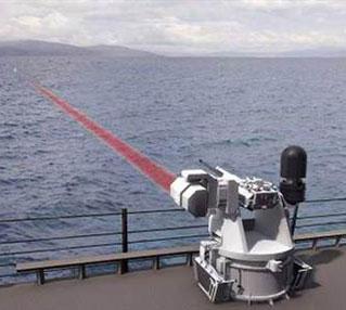 Tàu Mỹ sẽ có súng laser vào năm 2014