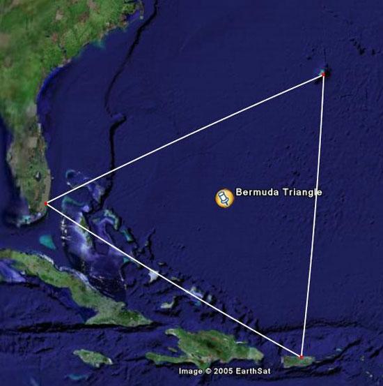 Phát hiện thành phố cổ trong Tam giác quỷ Bermuda