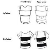 Áo phông cứu hộ cho trẻ nhỏ