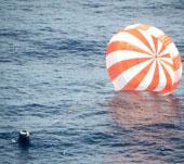Tàu vũ trụ tư nhân đầu tiên trở về trái đất an toàn