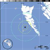 Bờ tây Canada lại rung chuyển vì động đất