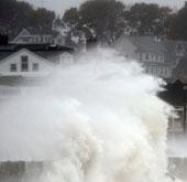 Chùm ảnh: Siêu bão Sandy tàn phá nước Mỹ