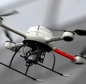 Robot bay biết tránh chướng ngại vật như chim